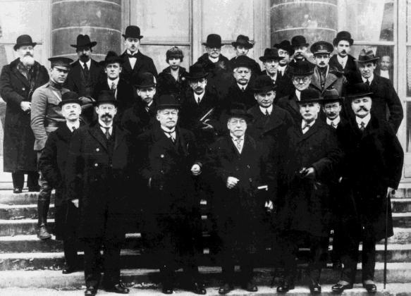 1919-01-Comision de la Legislación Internacional del Trabajo