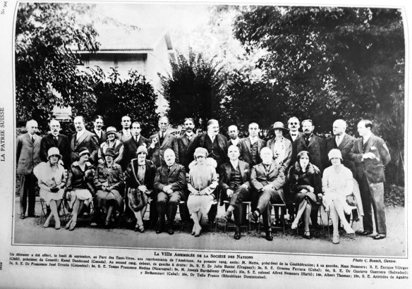 1927-La Patrie Suisse-Delegues latinoamericains SDN