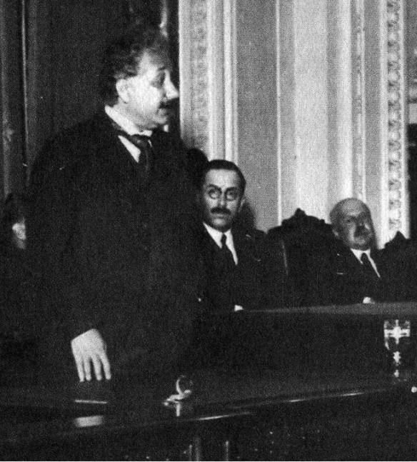 1925-01-25-Einstein en el CNBA